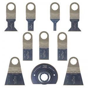 10x Sabrecut Sck10bm bi-métal Lames pour Fein Supercut et Festool Vecturo Outil multifonction oscillant Multi outil Accessoires de la marque SabreCut image 0 produit