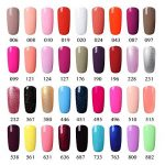 [298 Coloris disponible] Vishine Lot de 22 Flacons Vernis Gel Semi-Permanent(20 couleurs + Base Top Coat Kit ) Vernis à Ongles UV LED Soak Off 22pcs 8ml de la marque Vishine image 2 produit
