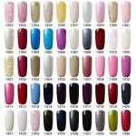 [298 Coloris disponible] Vishine Lot de 22 Flacons Vernis Gel Semi-Permanent(20 couleurs + Base Top Coat Kit ) Vernis à Ongles UV LED Soak Off 22pcs 8ml de la marque Vishine image 4 produit