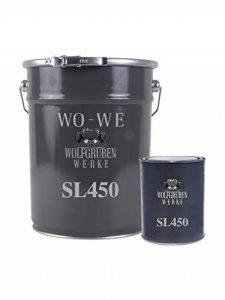 2K PEINTURE PISCINE   WO-WE SL450   - Gris anthracite comme RAL 7016-5Kg de la marque Wowe image 0 produit