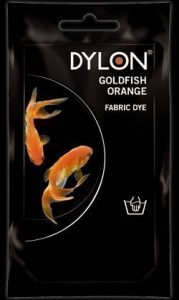 2x Teinture Dylon tissu Poisson Rouge Couleur Orange 50g Lavage à la main Vêtements de la marque Spotless-Punch-Ltd image 0 produit