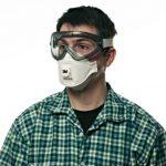 3M 9322+ C2Aura Masque, niveau de protection FFP2, idéal pour porteur de lunettes, Lot de 2 de la marque 3M image 3 produit