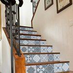 3D DIY Escalier Autocollants, 6Pcs 100x18cm Auto-adhésif Imperméable Décoratifs À La Maison Decals/Stairway Stickers Decorating Peinture Murale pour Tuile, Brique, Escaliers Latéraux En Bois de la marque MansWill image 4 produit