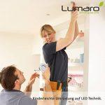 6x Lumare Slim Line LED spot encastrable IP44 rond/blanc avec seulement une profondeur d'installation de 27 mm! Spot de plafond 4W 400lm AC 230V de la marque Lumare image 4 produit