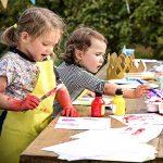 8 Tabliers Pour Enfants Smock D'art Sans Manches -Tablier De Peinture, Artisanat, Cuisine - Enfants Activités Créatives, Dessin, Peinture, Pâtisserie, - Pour La Communauté Ou La Salle De Classe de la marque THE TWIDDLERS image 2 produit