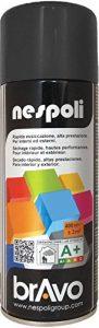 AEROSOL Peinture Noir - Peinture Pro Mat - 400ml de la marque NESPOLI image 0 produit