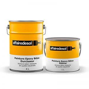 Affairedesol Peinture Epoxy Béton Bi-composante Résistante pour Zones à Trafic Intense, 5L Gris de la marque Affairedesol image 0 produit
