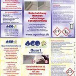 Ago Kit d'élimination des moisissures 3 pièces AGO Dissolvant anti-moisissures avec Ago Stop moisissure se complètent parfaitement de la marque AGO image 1 produit
