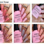 AIMEILI Soak Off UV LED Nude Pastel Vernis à Ongles Gel Semi-Permanent Lot Color Mix/Multi-Colored Kit Set Ensemble de Couleurs 6 X 10ml - Set 22 de la marque AIMEILI image 1 produit