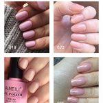 AIMEILI Soak Off UV LED Rose Pastel Vernis à Ongles Gel Semi-Permanent Lot Color Mix/Multi-Colored Kit Set Ensemble de Couleurs 4 X 10ml - Set 17 de la marque AIMEILI image 1 produit