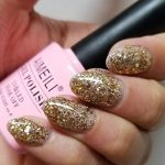 AIMEILI Soak Off UV LED Vernis à Ongles Gel Semi-Permanent Or Paillettes Claires - Golden Superstar Clear Glitter (062) 10 ml de la marque AIMEILI image 1 produit