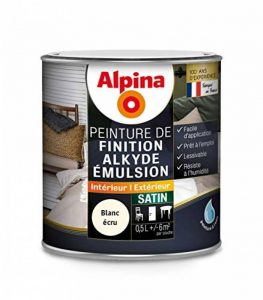 ALPINA - Peinture Alpina Alkyde émulsion 0,5L Satin - Satin, Blanc écru de la marque Alpina image 0 produit