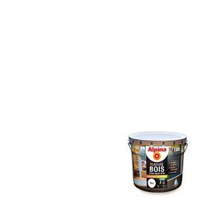 ALPINA Peinture Bois microporeuse - Satin Blanc 10L 100m² de la marque Alpina image 0 produit