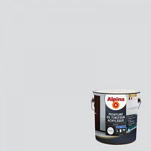 ALPINA Peinture de finition - Acrylique - Mat Gris Béton 2,5L 30m² de la marque Alpina image 0 produit