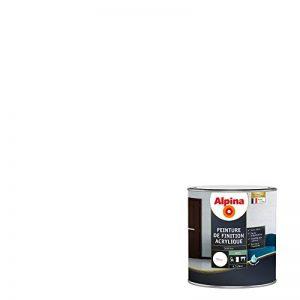 ALPINA Peinture de finition - Acrylique - Satin Blanc 0,5L 6m² de la marque Alpina image 0 produit