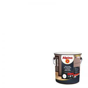 ALPINA Peinture de finition - Alkyde émulsion - Brillant Blanc 2,5L 30m² de la marque Alpina image 0 produit