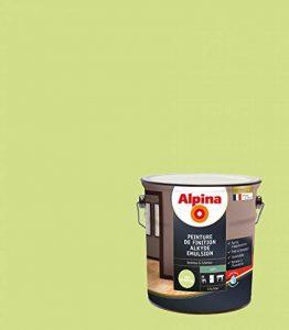 ALPINA Peinture de finition - Alkyde émulsion - Satin Vert Printemps 2,5L 30m² de la marque Alpina image 0 produit