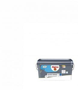 ALPINA Peinture monocouche pour Murs & Plafonds - HAUTE QUALITE - Spécial Grands Travaux - Mat Blanc 2,5L 25m² de la marque Alpina image 0 produit
