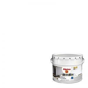 ALPINA Peinture pour Murs & Plafonds - Mat Blanc 10L 100m² de la marque Alpina image 0 produit