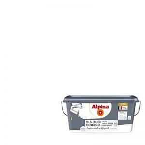 ALPINA Sous-couche universelle HAUTE QUALITE - Spécial Grands Travaux - Mat Blanc 10L 80m² de la marque Alpina image 0 produit