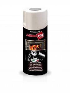 Ambro-sol V400temp. 1–Peinture haute température Noir 400ml de la marque Ambro-Sol image 0 produit