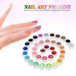 Anself Gel Couleur 36 Nail Art Pigment Set Gel Couleur Ongle UV Colle Solide Polonais de la marque Anself image 1 produit