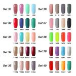 Arte Clavo Lot de 4 vernis à ongles gel UV LED 15 ml Couleurs fluo pastel pour manucure pédicure Nail Art Beauty Salon Home Starters and Practice Use de la marque Arte Clavo image 1 produit