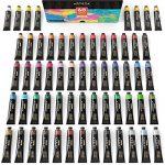 ARTEZA Coffret peinture acrylique | 60 tubes de couleurs (22ml) | Pigments riches | Haute qualité | Non Toxique | Pour artistes professionnesl, peintres amateurs et peinture enfant de la marque ARTEZA® image 3 produit
