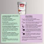 AVI - COLORE TOUTES PIECES - Haut Pouvoir Opacifiant - Satin - 0,5L - Métal Argenté de la marque Avi image 2 produit