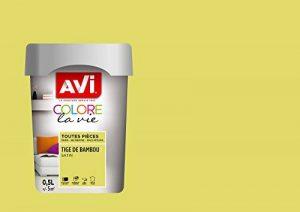 AVI - COLORE TOUTES PIECES - Haut Pouvoir Opacifiant - Satin - 0,5L - Tiger de Bambou de la marque Avi image 0 produit