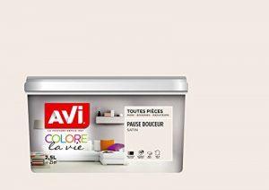 AVI - COLORE TOUTES PIECES - Haut Pouvoir Opacifiant - Satin - 2,5L - Pause Douceur de la marque Avi image 0 produit