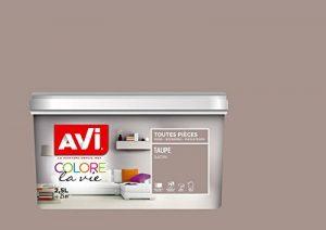 AVI - COLORE TOUTES PIECES - Haut Pouvoir Opacifiant - Satin - 2,5L - Taupe de la marque Avi image 0 produit