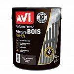 AVI - PERFORM ACTIV BOIS - Peinture Anti-pluie pour Boiseries Extérieures - Satin - Brun Normand de la marque Avi image 2 produit