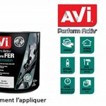 AVI - PERFORM ACTIV FER - Peinture Anti Corrosion - Brillant - 0,5L - BLANC CALIBRE de la marque Avi image 2 produit