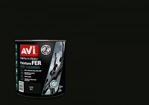 AVI - PERFORM ACTIV FER - Peinture Anti Corrosion - Brillant - Noir Mat de la marque Avi image 0 produit
