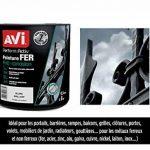 AVI - PERFORM ACTIV FER - Peinture Anti Corrosion - Brillant - Noir Mat de la marque Avi image 1 produit