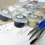 Baiser Peinture De Cerfs par Numéros Mur Art Animal Photo pour Le Salon Pas Cher Loving Image Illustration Coloriage Affiche par Nombres de la marque Likuan image 2 produit