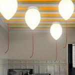 ● Balloon en verre créatif pour enfants plafonniers chambre pour bébé simple lampe de plafond couloir balcon lampes de plafond (grand) ● de la marque ZHANG NAN image 1 produit
