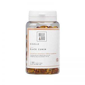Belle&Bio - Huile de Nigelle - 120 capsules - 2000 mg - Défenses Naturelles - Fabriqué en France de la marque Belle&Bio image 0 produit