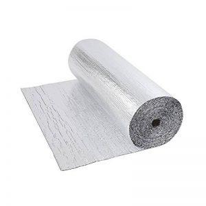 Biard - Isolant Thermique et Acoustique - Feuille Aluminium à Bulles - Double Épaisseur - Isolation Sol Toit Mur - Rouleau 6m² de la marque Biard image 0 produit