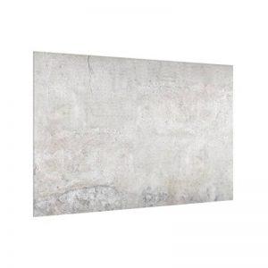 Bilderwelten Crédence en Verre - Shabby Concrete Look - Paysage 2:3, Peinture Murale revetement Mural Cuisine dosseret de Cuisine Impression sur Verre Fond de Cuisine, Dimension: 59cm x 90cm de la marque Bilderwelten image 0 produit