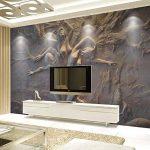 BIZIX Papier Peint personnalisé 3D Stéréoscopique en Relief Abstrait Beauté Body Art Fond Mur Peinture Peinture Salon Chambre Murale de la marque BIZIX image 2 produit