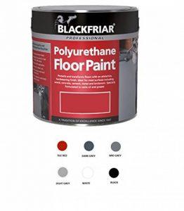 Blackfriar Peinture pour sols en polyuréthane pour intérieur/extérieur Noir 5 l de la marque Blackfriar image 0 produit