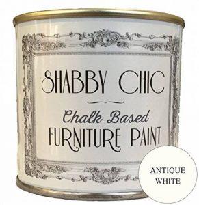 Blanc Ancien (Antique White) Base Et Peinture A La Craie Pour Meubles Shabby Chic 1 Litre de la marque Shabby-Chic-Furniture-Paint image 0 produit