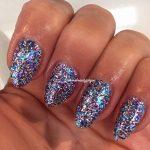 Bluesky SP11Vernis à ongles UV/LED Paillettes bleues, violettes et argentées 10ml + 2lingettes brillance Homebeautyforyou de la marque Bluesky image 4 produit