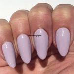 Bluesky - Vernis à ongles pastel,touche de lilas (A90), gel à séchage UV et LED livré avec 2 lingettes à lustrer LuvliNail de la marque Bluesky image 2 produit