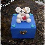 Boite à trésors - Frilounet, ours blanc Cadeaux Noël Idée Cadeaux Anniversaire Cadeaux Naissance Cadeaux Baptême de la marque N/D image 1 produit