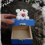 Boite à trésors - Frilounet, ours blanc Cadeaux Noël Idée Cadeaux Anniversaire Cadeaux Naissance Cadeaux Baptême de la marque N/D image 3 produit