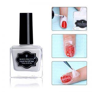 Born Pretty 15ml Latex Blanc Ruban Liquide Base Liquide Nail Art Pelliculable Nail Art de la marque Born-Pretty image 0 produit