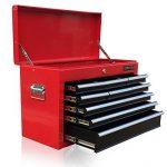 Boîte à outils US Pro Tools, avec 9tiroirs à roulement à billes - Rouge et noire de la marque us-pro-tools image 3 produit